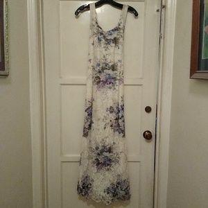 Nostalgia Lace Floral Dress